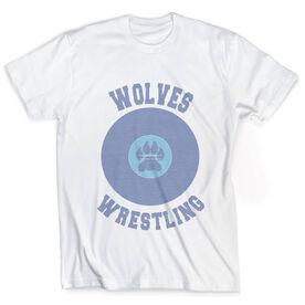 Vintage Wrestling T-Shirt - Your Logo