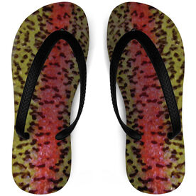 Fly Fishing Flip Flops Rainbow Trout