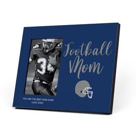 Football Photo Frame - Football Mom Script