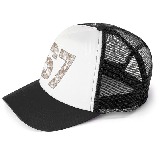 Trucker Hat - Camouflage Custom Number