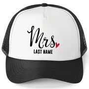 Personalized Trucker Hat - Mrs.