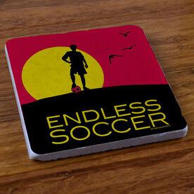 Endless Soccer (Boy) - Stone Coaster