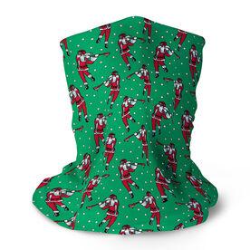 Guys Lacrosse Multifunctional Headwear - Santa Laxer Pattern RokBAND