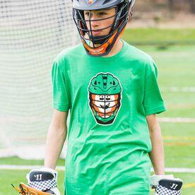 Guys Lacrosse Short Sleeve T-Shirt - Lucky McCradle