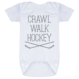 Hockey Baby One-Piece - Crawl Walk Hockey