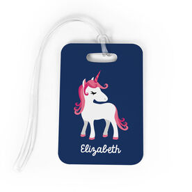 Personalized Bag/Luggage Tag - Personalized Unicorn
