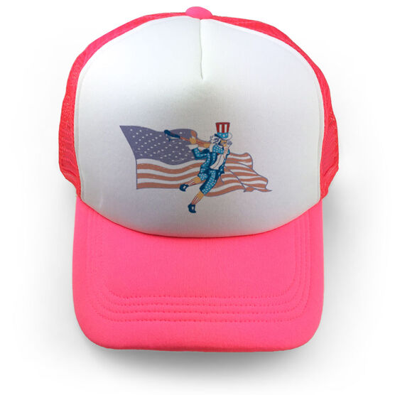 Images. Guys Lacrosse Trucker Hat Stars and Stripes 6b68bcd387b9
