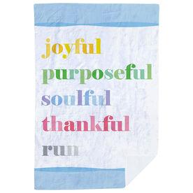 Running Premium Blanket - Run Mantra