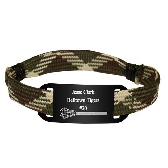 Personalized Lacrosse Shooting String Bracelet Single Stick Adjustable Shooter Bracelet