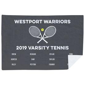 Tennis Premium Blanket - Team Roster