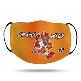 Seams Wild Lacrosse Face Mask - Pummell