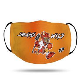 Seams Wild Lacrosse Face Mask - Pummell