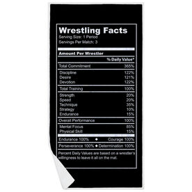 Wrestling Premium Beach Towel - Facts