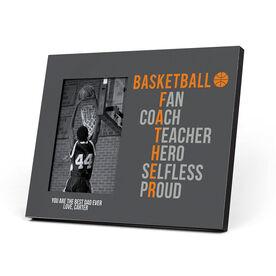 Basketball Photo Frame - Basketball Father Words