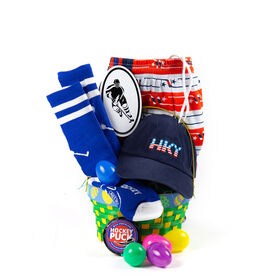 Hockey easter gifts chalktalksports hat trick hockey easter basket 2018 edition negle Image collections