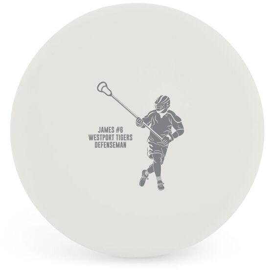 Guys Lacrosse Ball - Personalized Defenseman