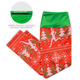 Running Performance Capris - Ugly Sweater