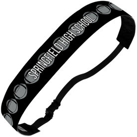 Football Julibands No-Slip Headbands - Personalized Football Stripe Pattern