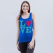 Softball Women's Athletic Tank Top LOVE
