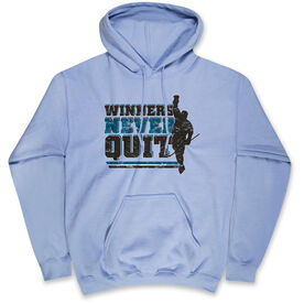 Hockey Standard Sweatshirt - Winners Never Quit (Hockey)