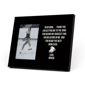 Figure Skating Photo Frame - Dear Mom Heart