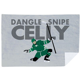 Hockey Premium Blanket - Dangle Snipe Celly