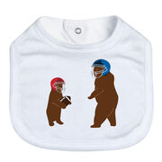 Football Baby Bib - Bears