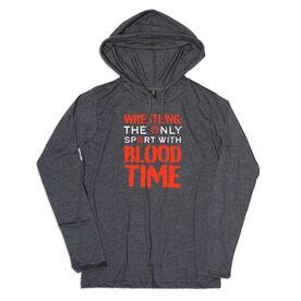 Men's Wrestling Lightweight Hoodie - Blood Time