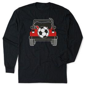 Soccer Tshirt Long Sleeve - Soccer Cruiser