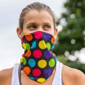 Multifunctional Headwear - Polka Dots Colorful RokBAND