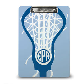 Girls Lacrosse Custom Clipboard Monogrammed Lax Life