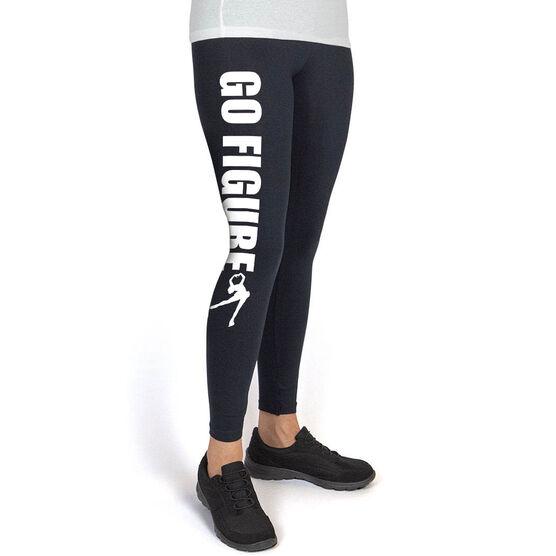 Figure Skating High Print Leggings - Go Figure