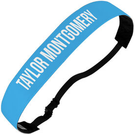 Athletic Julibands No-Slip Headbands - Your Text Here