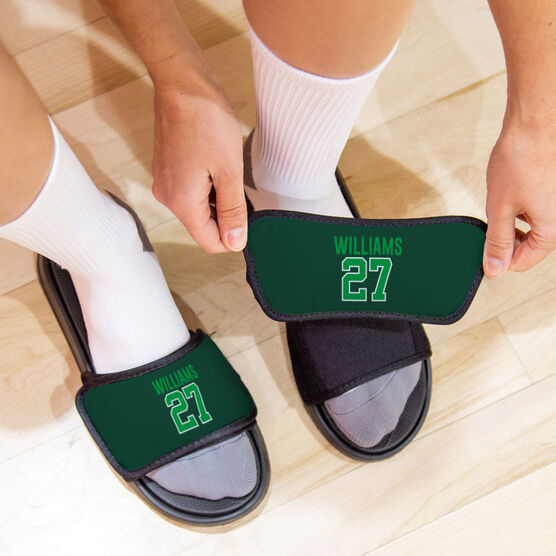 General Sports Repwell® Sandal Straps - Name and Number