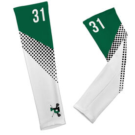 Arm Sleeves - Pentucket Youth Lacrosse Logo with Pattern