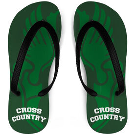 Cross Country Flip Flops Winged Foot