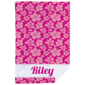 Personalized Premium Blanket - Aloha Vibes