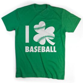 Baseball Tshirt Short Sleeve I Shamrock Baseball