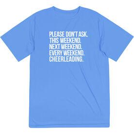 Cheerleading Short Sleeve Performance Tee - All Weekend Cheerleading