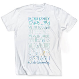 Vintage Swimming T-Shirt - We Do Swimming