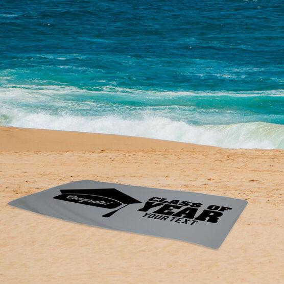 Personalized Beach Towel - My Graduation