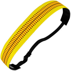 Softball Julibands No-Slip Headbands - Stitches