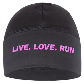 Run Technology Beanie Performance Hat - Live. Love. Run.