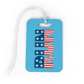 Running Bag/Luggage Tag - Run Patriotic