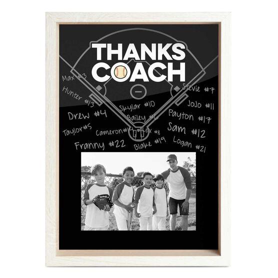 Baseball Premier Frame - Thanks Coach