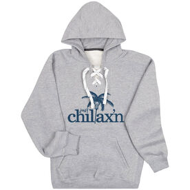 Lacrosse Sport Lace Sweatshirt - Just Chillax'n