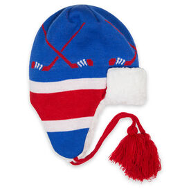 Hockey Sherpa Trapper Hat - New York