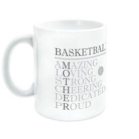 Basketball Coffee Mug - Mother Words