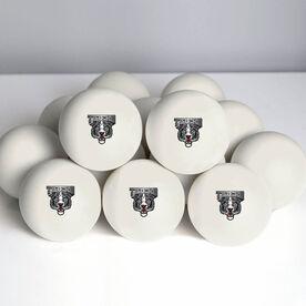 Custom Logo Lacrosse Ball (White Ball)