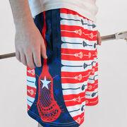 Stars & Stripes Lacrosse Shorts